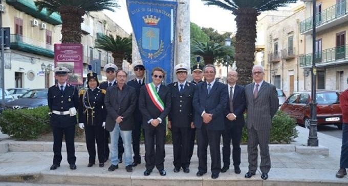 Castelvetrano: celebrata la Festa dell'Unità Nazionale e la Giornata delle Forze armate