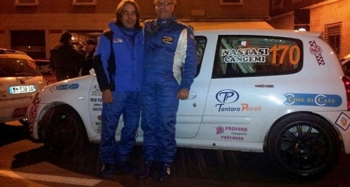Partanna: Nastasi-Cangemi campioni al XXXI Rally 2 Valli
