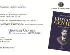 Santa Ninfa: presentazione del libro su Giovanni Gentile