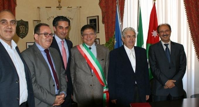 Alcamo: siglato un gemellaggio con il governatorato di Aqaba nel Regno di Giordania