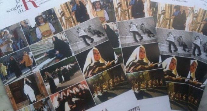 Le foto del corteo storico di Castelvetrano sul calendario dell'Opera di Santa Rita da Cascia