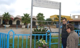Castelvetrano: il sindaco Felice Errante ricorda i caduti di Nassirya nel decennale della strage
