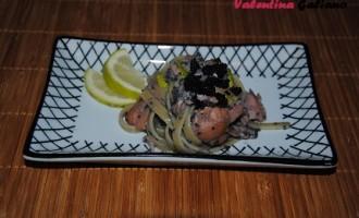"""""""…le delizie del PaLato"""": Linguine con uova di Lompo e salmone affumicato"""