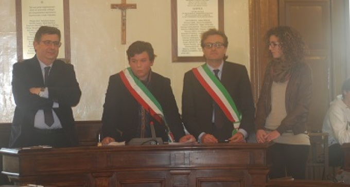 Castelvetrano: Michele Lanzoni eletto Baby-Sindaco