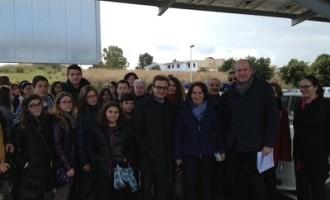 Castelvetrano: una delegazione di studenti di quattro nazioni in visita al parcheggio fotovoltaico