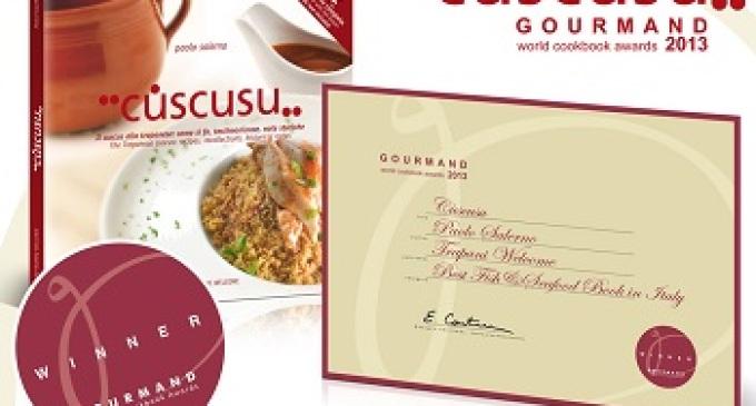 """Il libro """"Cùscusu"""" ottiene un riconoscimento dal """"Gourmand World Cookbook Awards"""""""