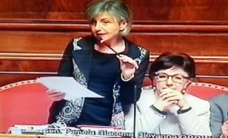 Intervento in senato della Senatrice Orrù sulla vicenda dei lavoratori del Gruppo6gdo