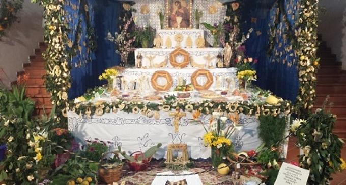 Partanna: torna la tradizione degli altari votivi di San Giuseppe