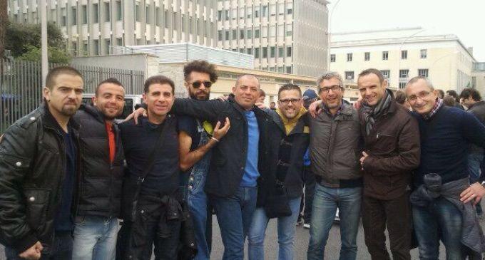 """Partanna: il gruppo """"Nati stanchi runners"""" ha partecipato alla Ventesima acea maratona di Roma"""