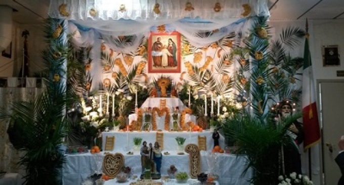 Festa di San Giuseppe in America