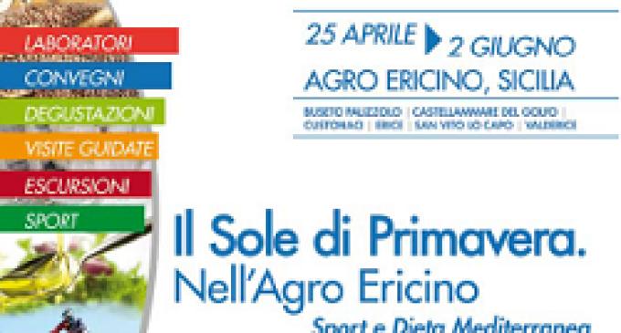 """Il Gal Elimos presenta """"Il Sole di Primavera. Nell'Agro-Ericino"""""""