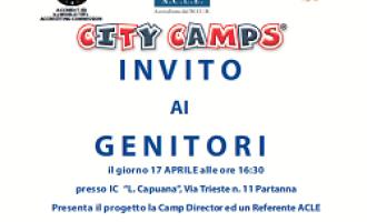 City Camp 2014: Londra arriva a Partanna