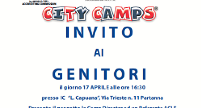 City Camp 2014: Londra arriva a Partanna