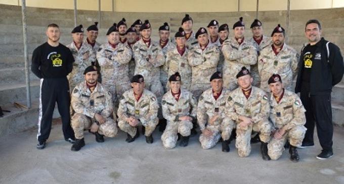 Trapani: i bersaglieri del 6° reggimento si addestrano al combattimento corpo a corpo