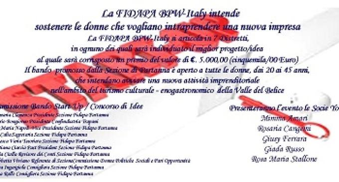 Partanna: il 19 aprile presentazione Bando Start Up al Castello Grifeo ore 17