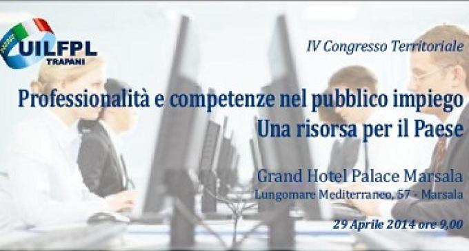 Domani il 4° Congresso territoriale Uil Fpl Trapani