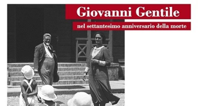 Castelvetrano: la città ricorda Giovanni Gentile