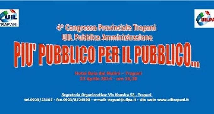 Domani il 4° Congresso territoriale Uilpa Trapani