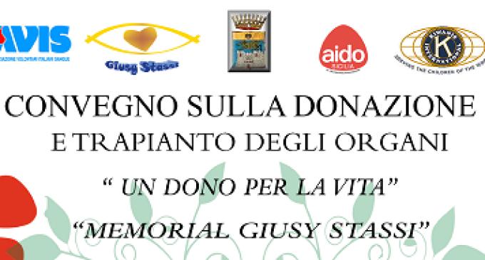 Partanna: domani convegno al Castello Grifeo sulla donazione e trapianto degli organi