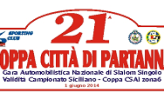 21 gli iscritti alla XXI Coppa Città di Partanna