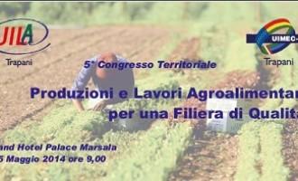 Domani il 5° Congresso Uila Trapani