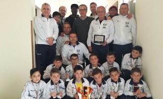 Il Sindaco Catania premia i Pulcini  2004 dell'A.S.D. Nuova Partanna Calcio