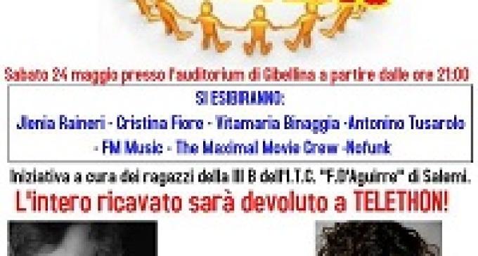 Gibellina: domani sera evento benefico a favore di Telethon