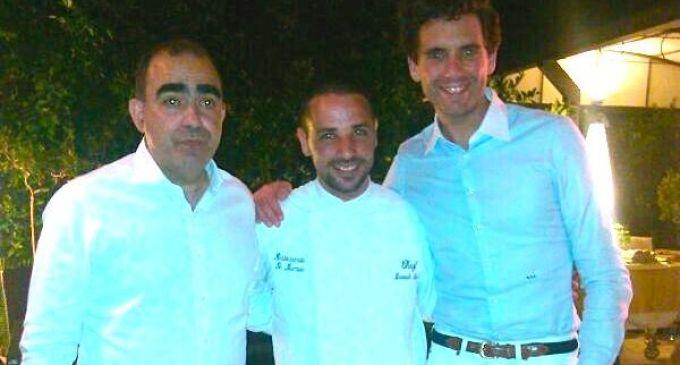 """Mika e Elio di """"Elio e le storie tese"""" a cena a Marsala al Ristorante Le Lumie"""