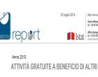 Il valore del lavoro volontario, i primi dati della ricerca condotta in Italia