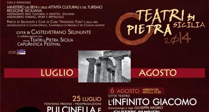 Parte venerdì la rassegna Teatri di Pietra