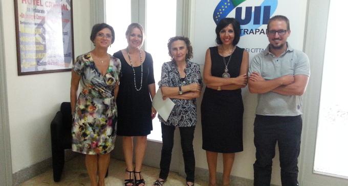 Riunione Uiltemp Trapani per tutela lavoratori atipici e partita Iva