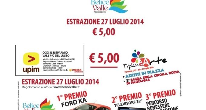 Anche quest'anno, con la Lotteria di Tipicuèarte, puoi vincere un'auto