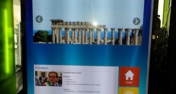 """A Castelvetrano """"Il Turista viaggia bene informato"""", installati i primi touch screen"""