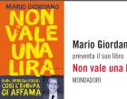 """Mercoledì Mario Giordano presenta a Marsala """"Non vale una lira"""""""