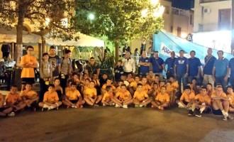 """L'""""ASD NUOVA PARTANNA CALCIO"""" ringrazia tutti per la partecipazione alla II Notte dello sport"""