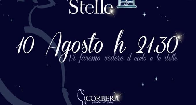 """Il 10 agosto """"Calici di Stelle"""" con Cantina Corbera"""
