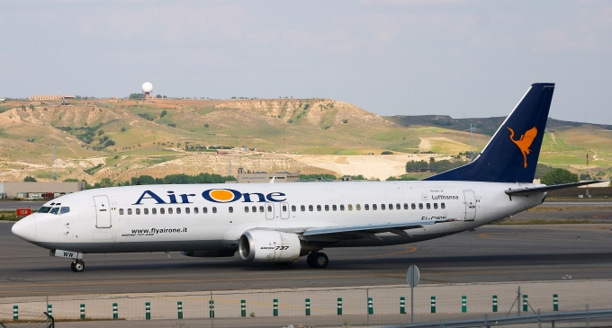 Air One, da ottobre addio ai voli per la Sicilia