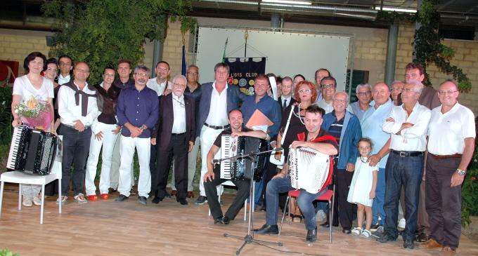 """Successo del """"Notturno Selinuntino con Fisarmonica"""" organizzato dal Lions"""