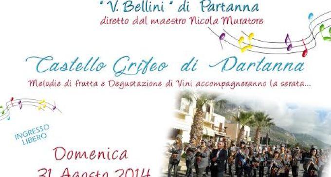 """Partanna: il 31 agosto """"Concerto d'Estate"""" al Castello Grifeo"""