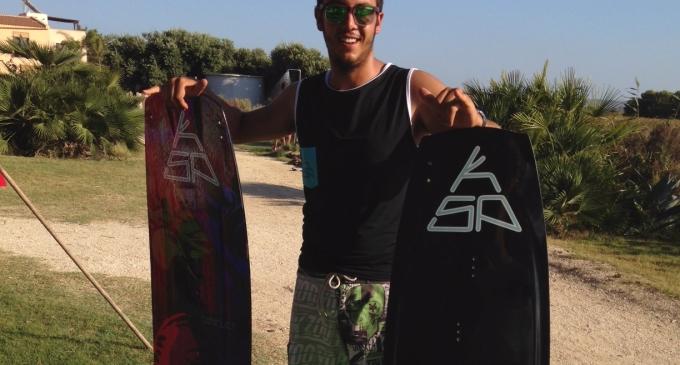 Kitesurf: Daniele Milazzo primo atleta marsalese a debuttare nel Campionato Italiano Freestyle