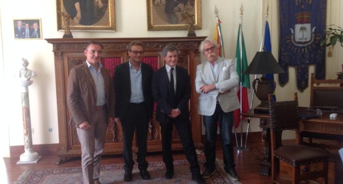 Castelvetrano: il Sindaco ha ricevuto il Presidente del Consiglio Nazionale dell' Anci, On. Gianni Alemanno