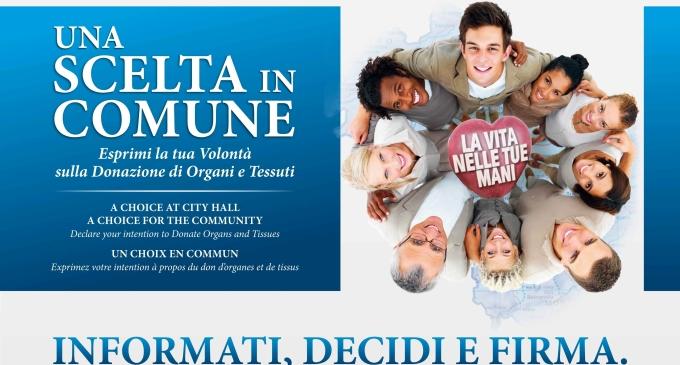I cittadini di Castelvetrano potranno manifestare la volontà per donare gli organi