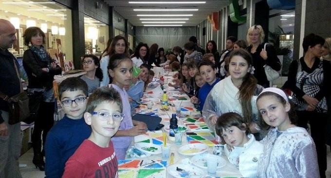"""Eccezionale successo ad Area 14 per """"Arte in Fiera"""" dedicata ai bambini"""