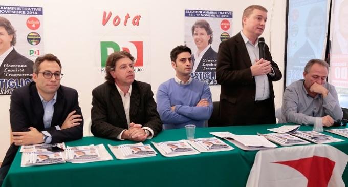 Campobello, candidato Castiglione: incontro della coalizione con i vertici del PD