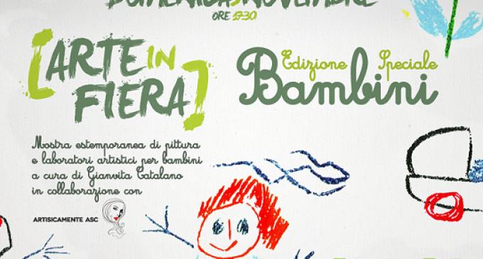 """Ad Area 14 edizione speciale di """"Arte in fiera"""" dedicata ai bambini"""