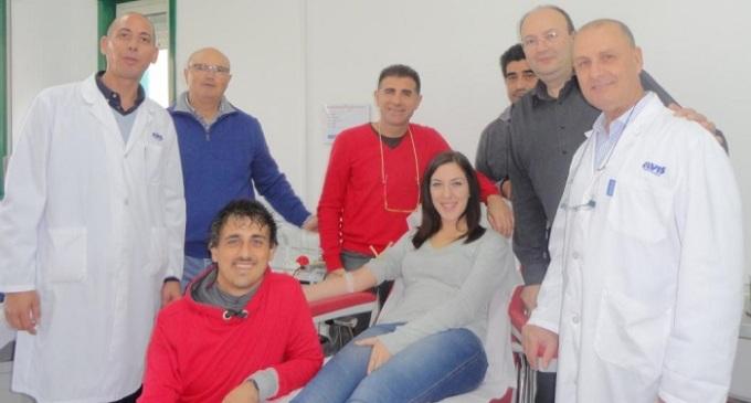 Avis Partanna: stabilito primato di 600 donazioni a Novembre