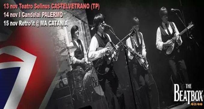 Castelvetrano: giovedì 13 novembre al teatro Selinus suoneranno i Beatbox