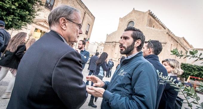 Castelvetrano: il Vescovo Mogavero incontra Giuseppe Cimarosa