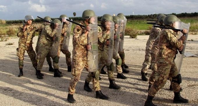 """I Bersaglieri del 6° Reggimento si addestrano per l'operazione """"Strade Sicure"""""""
