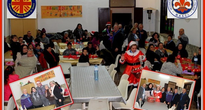 Mazara del Vallo: cena Caritas con le famiglie degli assistiti